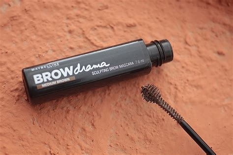 Maybelline Sculpting Brow Mascara budget buy maybelline browdrama sculpting brow