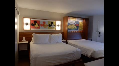 best rooms at pop century disney world pop century resort remodeled room tour review