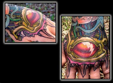 electric tattoo eye ghostprint gallery tattoos new school electric eye