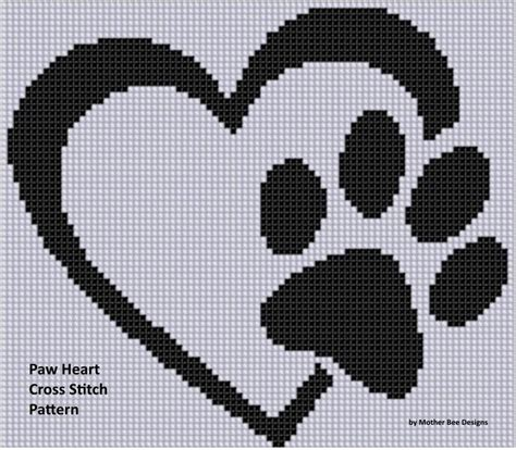heart pattern on graph paper 17 best images about dog craft ideas on pinterest for