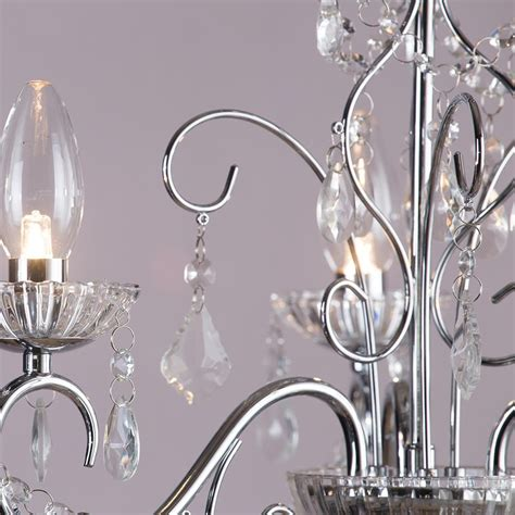 chandeliers for bathrooms uk vara 3 light bathroom chandelier chrome from litecraft