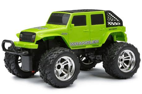 new bright rc jeep wrangler new bright jeep wrangler rc chargers truck walmart canada