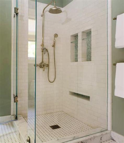 bathroom niche ideas to da loos 10 shower wall shoo niche style ideas