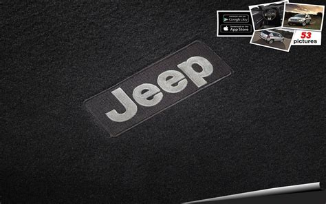 jeep logo wallpaper jeep logo wallpapers hd pictures to pin on