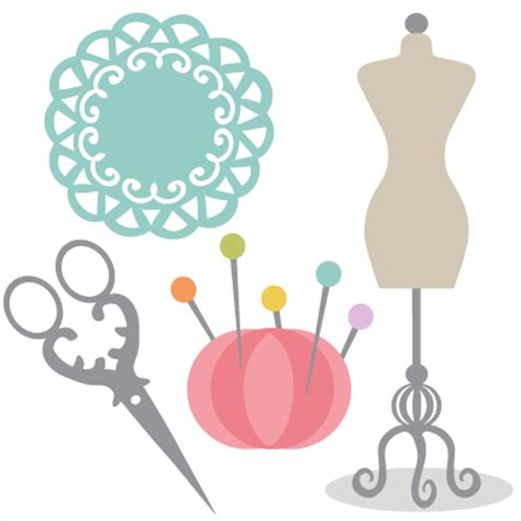 Sew Home Decor by Free Sewing Clip Art Joomlacase 2 Clipartix