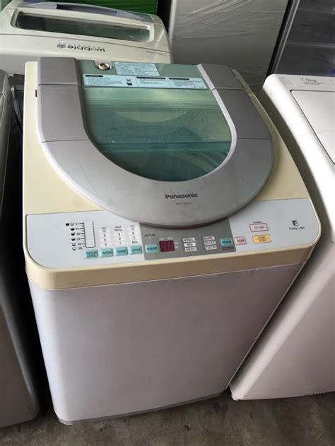 Mesin Cuci Panasonic 7kg 1 Tabung 7kg panasonic mesin basuh washer auto machine top load refurbish for sale from kuala lumpur