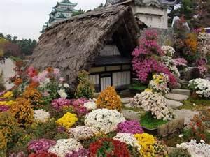 Flower Garden In Japan Japanese Nature Garden Cierra