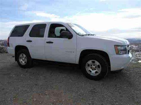 2007 chevrolet tahoe gas mileage purchase used 2007 chevrolet tahoe 4x4 white low mileage
