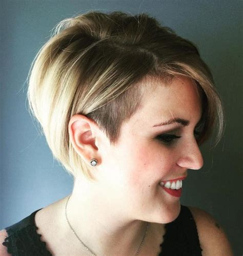 haircut bob undercut 50 women s undercut hairstyles to make a real statement