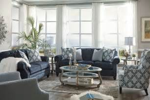 navy living room furniture lavernia navy living room set 7130438 ashley