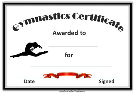 gymnastics awards