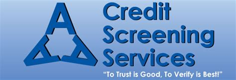 Credit Background Check Aaa Credit Screening Services Why Credit And Background Check Is Important