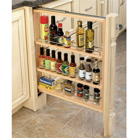pull out storage for kitchen cabinets rev a shelf kitchen base cabinet fillers with pull out storage