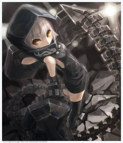 Strength Black 70 best images about black rock shooter on
