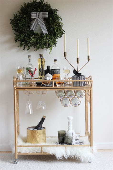how to decorate a bar jws interiors white decor for the holidays