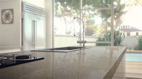 Caesarstone Countertop Thickness caesarstone shitake colour for benchtop kitchen