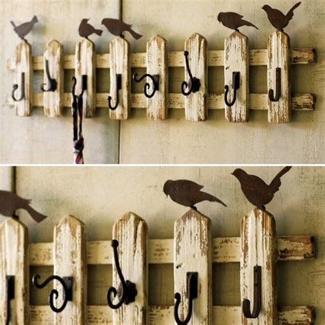 coat hook ideas 1000 ideas about picket fence crafts on