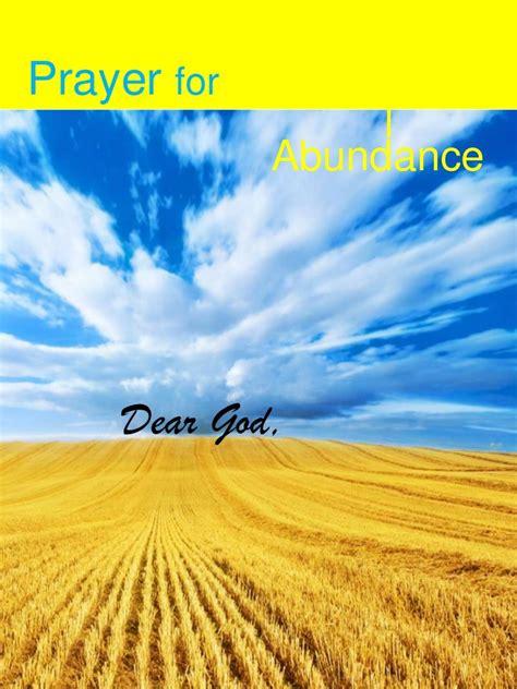 Mba In Abundance by Prayer Of Abundance