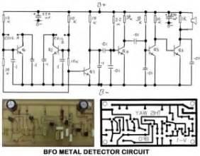 bfo metal detector circuit diagram gold metal detectors circuits related keywords gold
