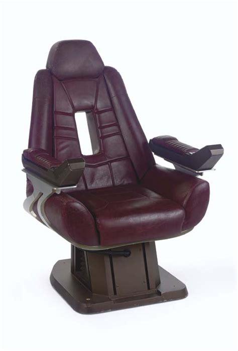 Trek Captains Chair by The Trek Prop Costume Auction July 2012