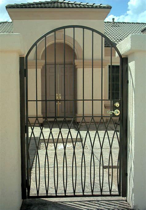 iron gate designs  homes homesfeed
