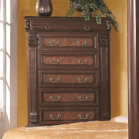coaster grand prado chest w 5 drawers dunk