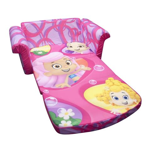 bubble guppies recliner spin master marshmallow furniture flip open sofa bubble