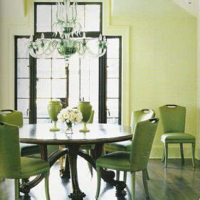 Lime Green Dining Room by Light And Bright Dining Room Design Inspiration