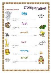 comparative worksheet by rosi noor