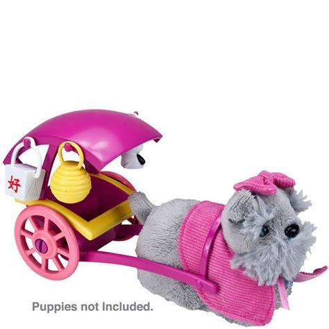 bow wow puppies zhu zhu pets puppies push along bow wow buggy toys thehut