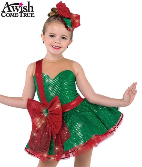 christmas attire for dance contest a wish come true 2018 19 characters gift for you character costume