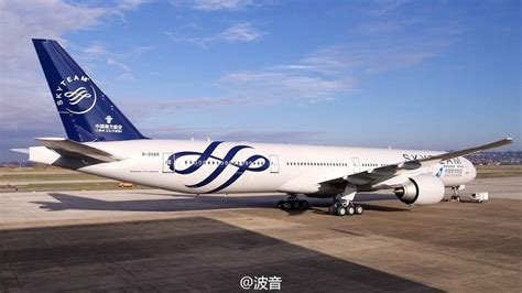emirates skyteam photos china southern welcomes first boeing 777 in