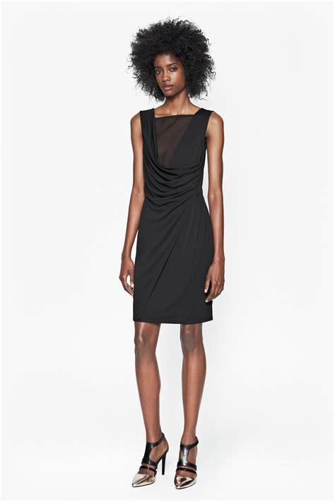 Dress Monna mona crepe drape dress new arrivals connection