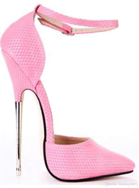 High Heels 16 2016 pumps 16cm metal thin high heels pumps shoes for high heel