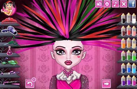 haircut games draculaura monster high games play free games online