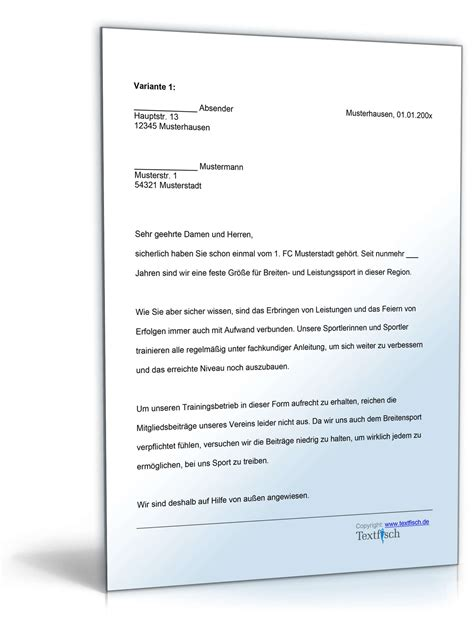Brief Anfrage Formulieren Archiv Musterbriefe 187 Dokumente Vorlagen