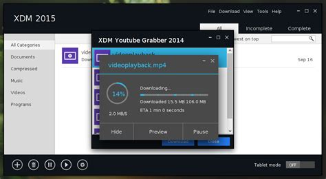 download xtreme download manager full version xtreme download manager 5 0 7 4 on elementary os loki