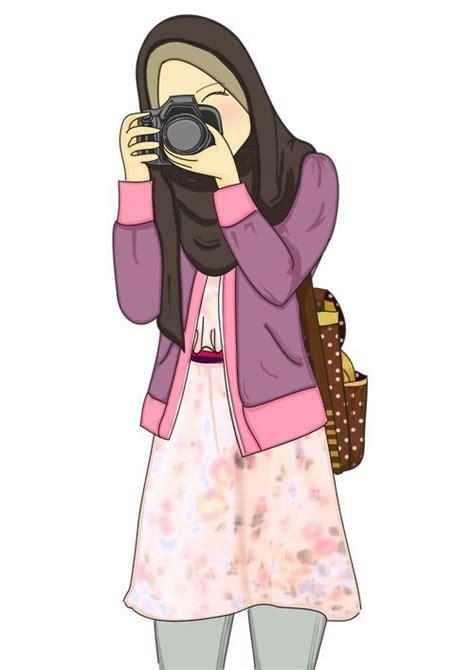 Cerita Anime Hijab Hijab Muslimah Anime Drawing Hijaber Cartoons Pinterest