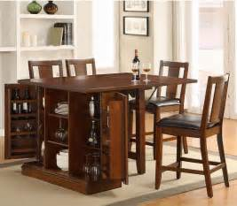 Kitchen Island Table With 4 Chairs simple kitchen design with high top drop leaf tables wine