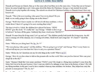 grade 2 reading comprehension christmas worksheets and comprehension texts for begginers save 50 by mariapht teaching