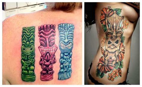 imagenes de flores aztecas tatuajes hawaianos ohana tiki brazaletes y su significado