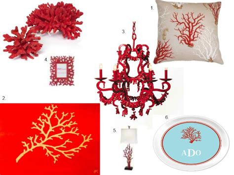 red coral home decor red coral home decor decoholic
