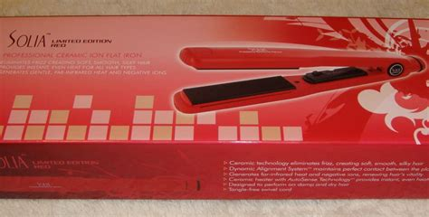 1 solia tourmaline ceramic ion flat iron 1 1 4 lina solia tourmaline ceramic ion flat iron 1 1 4 quot