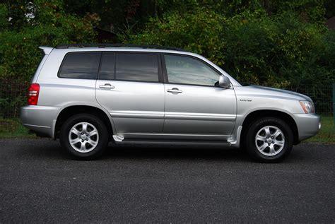 Cargurus Toyota Highlander 2002 Toyota Highlander Trim Information Cargurus