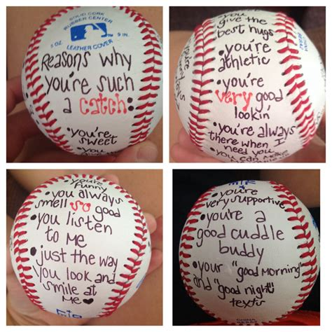 valentines gift for boyfriend 50 awesome valentines gifts for him baseball crafts