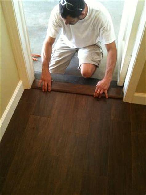 Installing Wood Look Tile Ceramictec Ta Porcelain Plank Wood Look Tile Installation