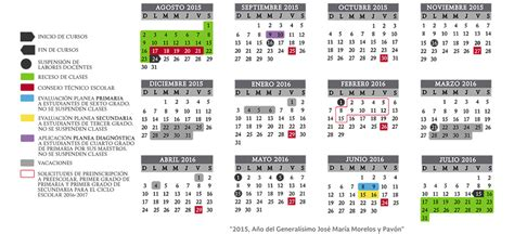 sep calendario 2015 2016 mexico search results