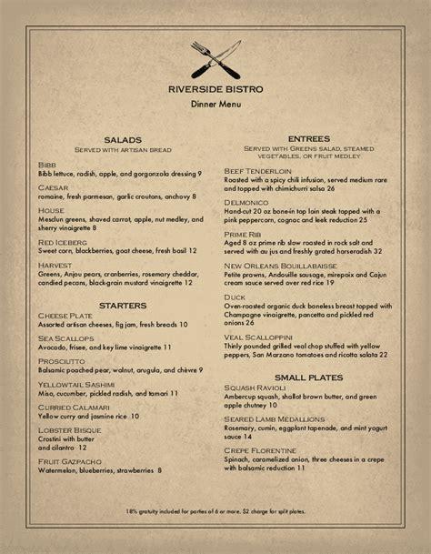 beautiful cafe menu templates  designs musthavemenus