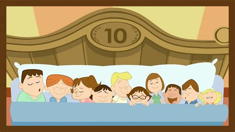 quot ten in the bed quot by abcmouse com youtube