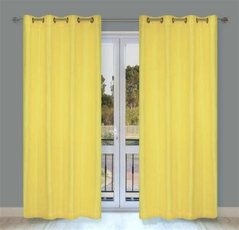 yellow silk drapes home window and yellow on pinterest